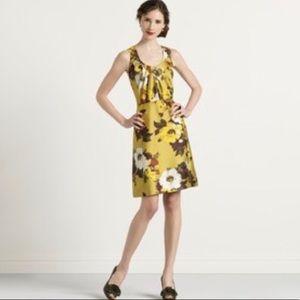 Kate Spade Bette Floral Print Silk Tea Dress